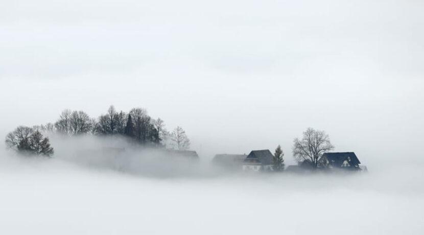 Podhalańskie wyspy! Niesamowity spektakl chmur (ZDJĘCIA)