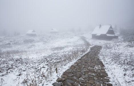 W Tatrach zima! Tak wyglądały dziś okolice Hali Gąsienicowej (ZDJĘCIA)