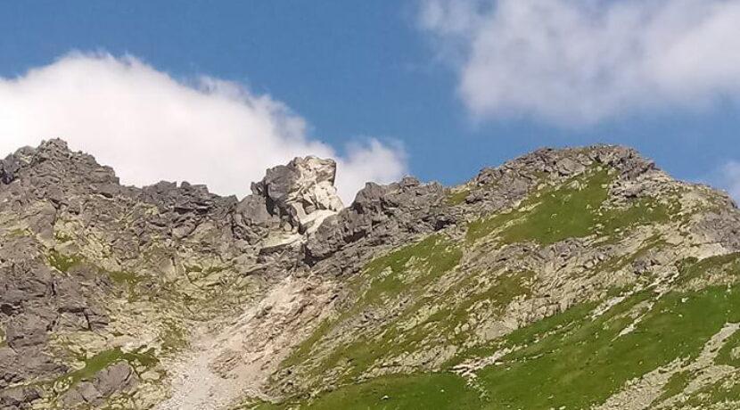 Kolejny obryw skalny na szlaku Świnica-Zawrat!