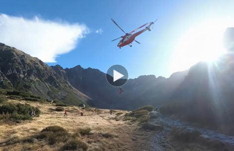 Tak wygląda akcja ratunkowa TOPR z bliska (FILM)