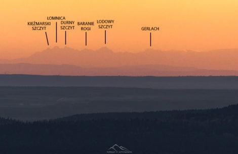 Tatry widziane z Łysej Góry w Górach Świętokrzyskich! (ZDJĘCIA)