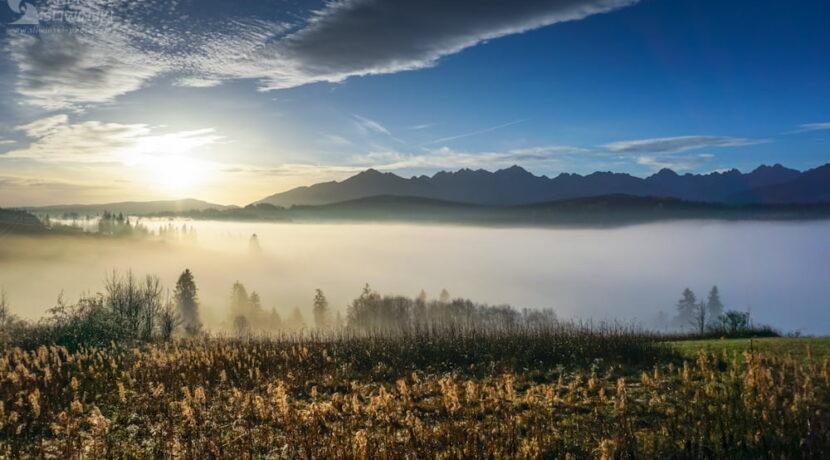 Morze mgieł i słońce. Cudowny poranek pod Tatrami (ZDJĘCIA)