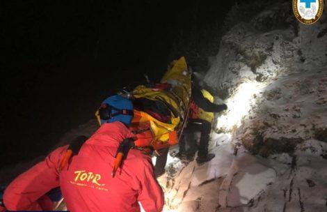Trudna akcja ratunkowa w Tatrach. Na pomoc ruszyła obsługa schroniska w Pięciu Stawach