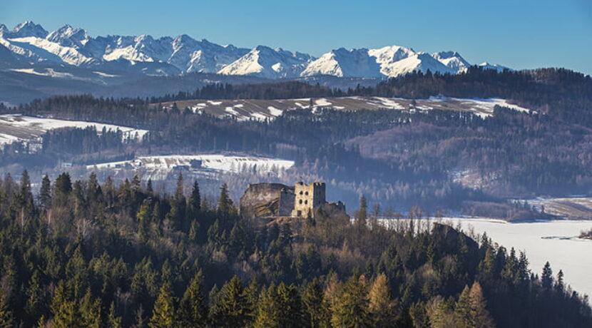 10 łatwo dostępnych miejsc z pięknym widokiem na Tatry