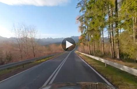 Przejazd z Głodówki na Wierch Poroniec w filmie 360°!