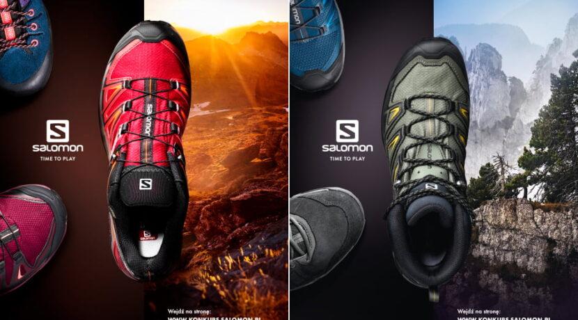 """""""Przymierzaj Przemierzaj""""…i wygrywaj obuwie marki Salomon! (KONKURS)"""