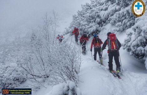 Akcja poszukiwawcza TOPR w Tatrach. Zaginął narciarz