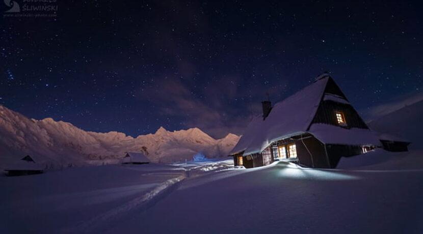 Magiczna noc na Hali Gąsienicowej. Klimat jak z bajki! (ZDJĘCIA)