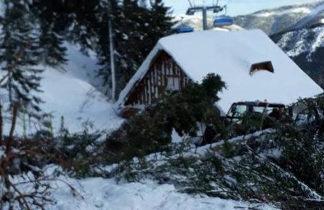 Lawina zeszła na stok narciarski w Tatrach!