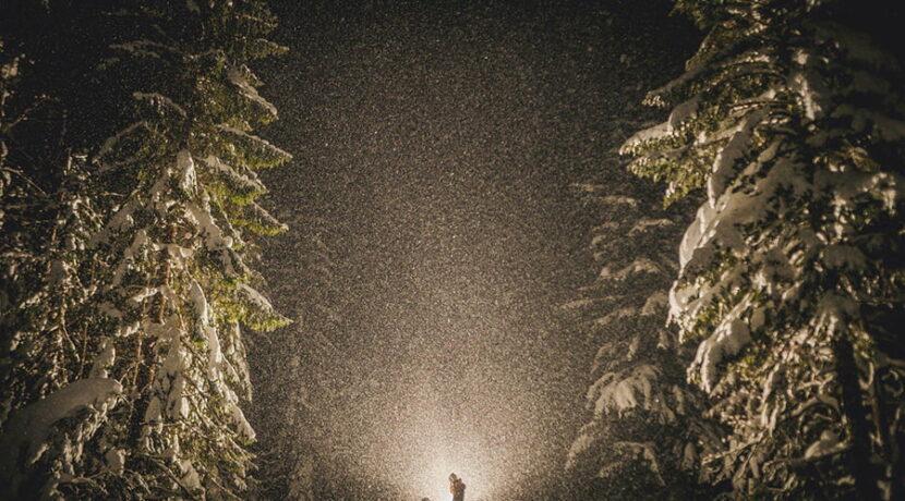 Bajkowe zaręczyny i…groźne spotkanie z niedźwiedziem w Tatrach