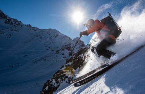 SNOWSTORY. Freeride i skitury na lodowcu Kaunertal (FILM)