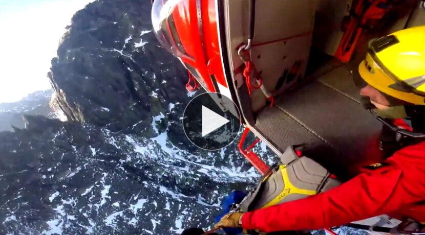Tak wygląda akcja ratunkowa z perspektywy ratownika TOPR (FILM)