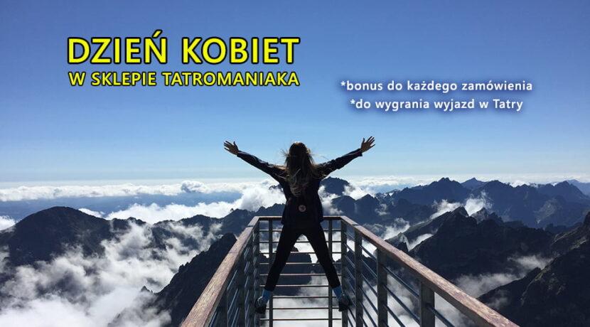 Dzień Kobiet w Sklepie Tatromaniaka – wygraj wyjazd w Tatry!