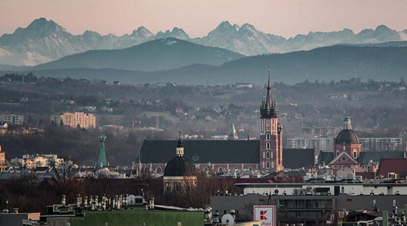Tatry doskonale widoczne z Krakowa. Te zdjęcia zapierają dech w piersiach (GALERIA)
