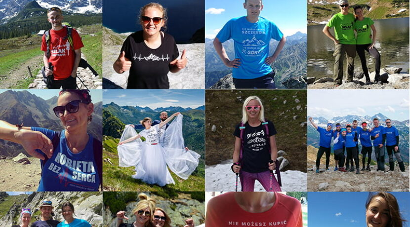 Zrób zdjęcie w koszulce Tatromaniaka, wygraj wyjazd w Tatry!