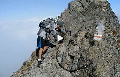 Najtrudniejsze miejsce na szlaku na Rysy (FILM)