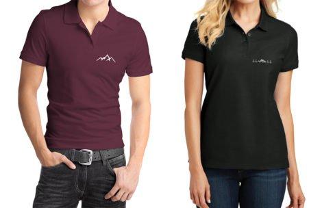 Koszulki polo z motywem górskim – nowość w Sklepie Tatromaniaka
