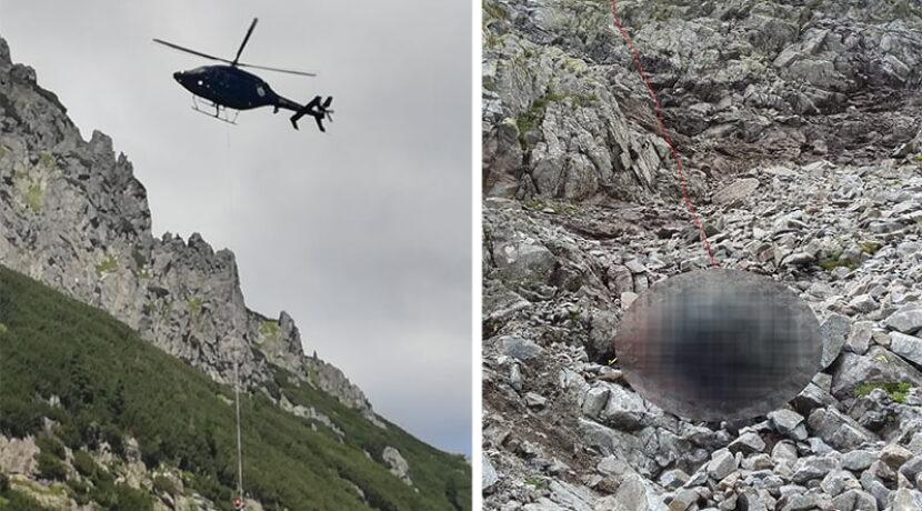 Tragedia w Tatrach. Taternik spadł 250 metrów, zginął na miejscu