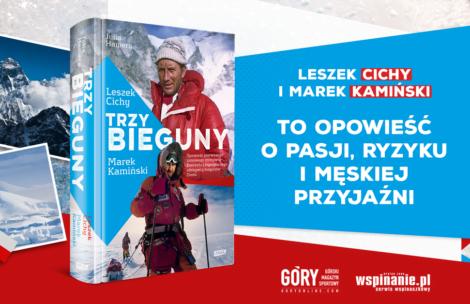 """""""Trzy bieguny"""" – wspólna książka Leszka Cichego i Marka Kamińskiego"""