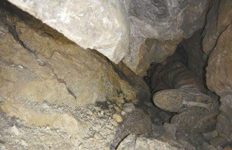 Obryw skalny w trakcie akcji ratunkowej w Jaskini Wielkiej Śnieżnej