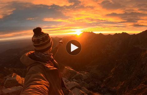 Tak pięknie wyglądać może wschód słońca na Rysach (FILM)