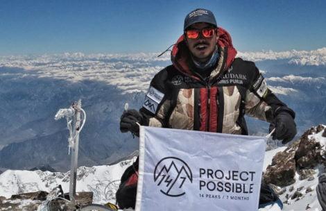 14 ośmiotysięczników w 7 miesięcy! Nirmal Purja zakończył swój szalony projekt!