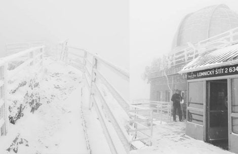 Temperatura odczuwalna w Tatrach wynosi -63°C!