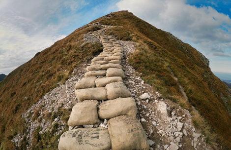 Tak wygląda szlak na Kończysty Wierch po remoncie