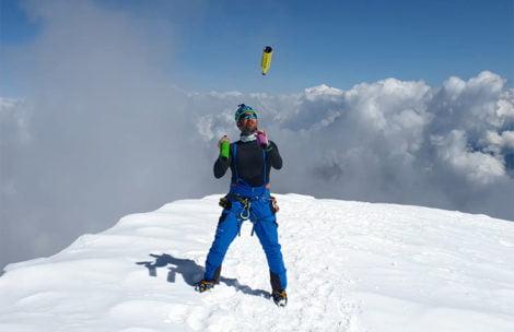 Żonglerka na szczycie Mount Everest? Taki cel ma Krzysztof Drabik