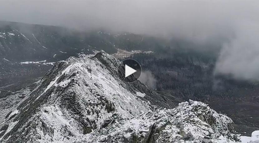 Bardzo trudne warunki w Tatrach! Aktualne nagranie i informacje (FILM)