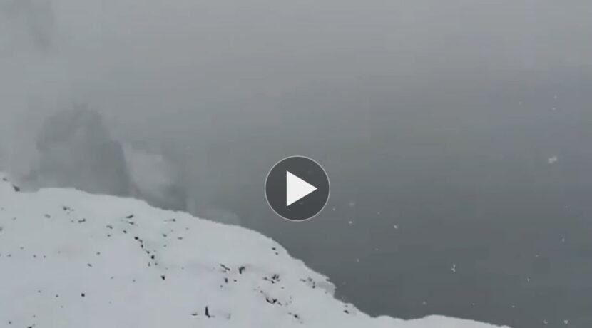Tak wyglądają teraz szlaki w Tatrach. Zobaczcie nagranie spod Rysów (FILM)