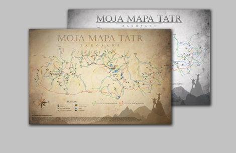 """""""Moja Mapa Tatr"""" – oznacz swoje tatrzańskie wędrówki!"""