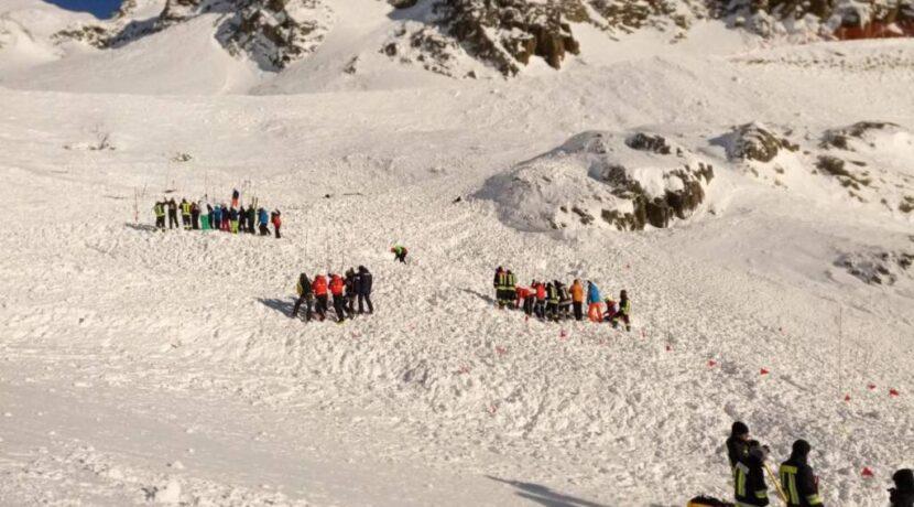 Włochy: Lawina zeszła na stok narciarski. Nie żyje kobieta i dwoje dzieci