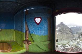 Panorama 360° z kultowego WC pod Rysami