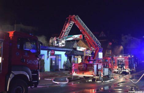Pożar słynnej restauracji w centrum Zakopanego