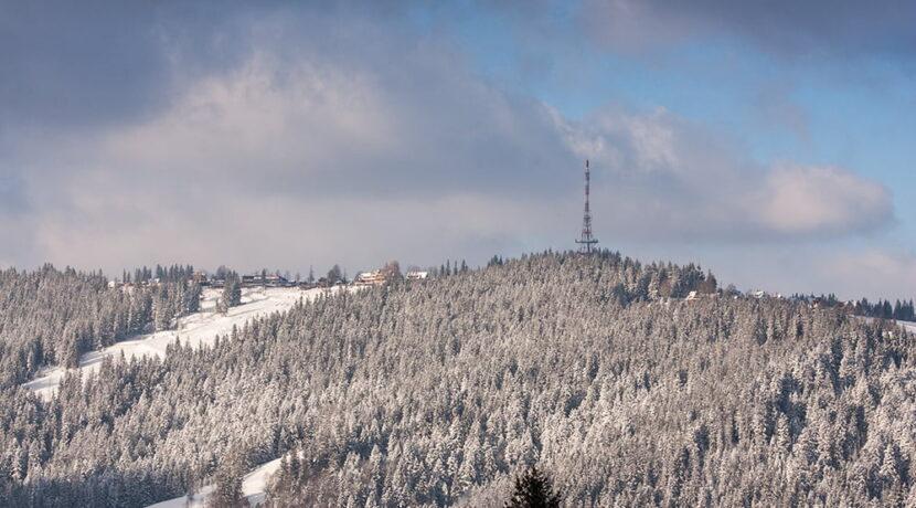 W Poroninie -9,4°C, kilka kilometrów dalej na Gubałówce…7,5°C!
