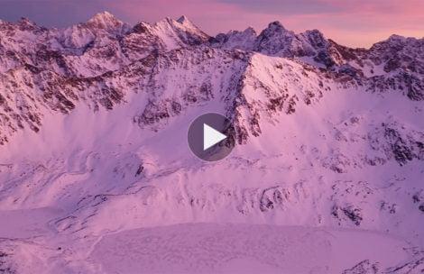 Cudowny widok z Orlej Perci o zachodzie słońca (FILM)