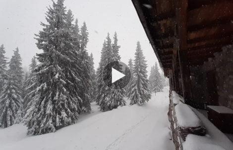 W Tatrach półtora metra śniegu. Tak prezentują się okolice Murowańca (ZDJĘCIA, FILM)
