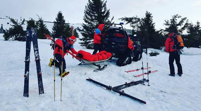 Ratownikom górskim ukradziono narty…podczas akcji ratunkowej