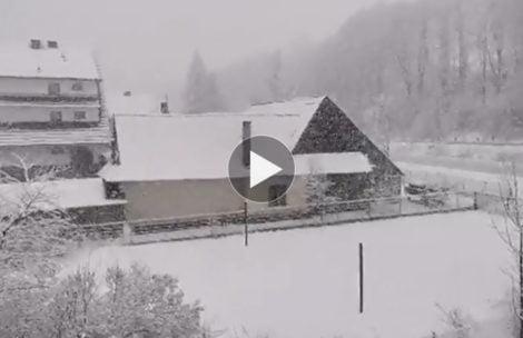 Taki początek wiosny w Zakopanem. Jest znowu biało! (FILM)