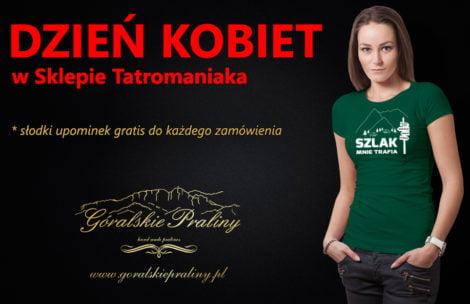Dzień Kobiet w Sklepie Tatromaniaka – słodki upominek do każdego zamówienia