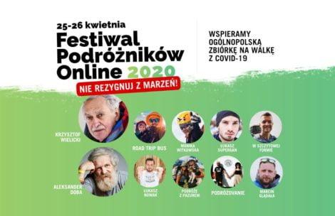 """Festiwal Podróżników Online """"Nie rezygnuj z marzeń"""" – już w najbliższy weekend!"""