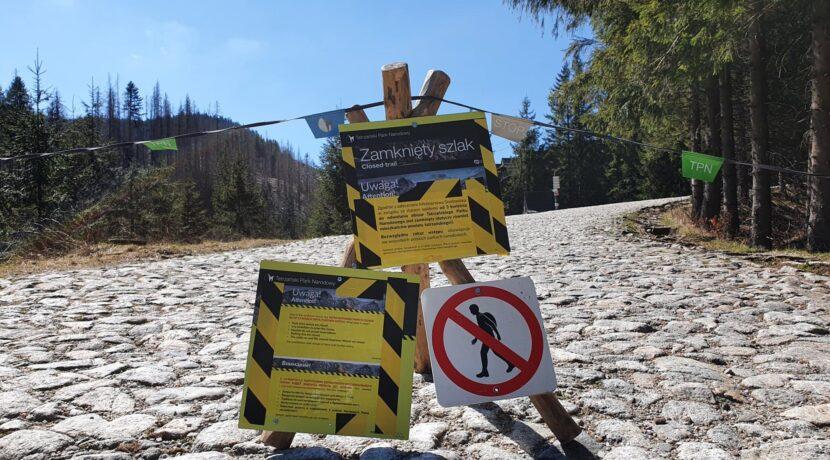 Tatrzański Park Narodowy: otwarte tylko 4 doliny (OFICJALNA INFORMACJA)