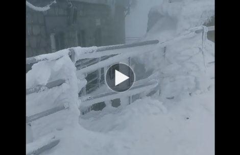 W krainie śniegu i lodu…Tak wyglądają obecnie warunki w Tatrach (FILM)