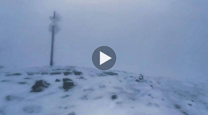 W Tatrach zima w pełni! Tak wyglądały dzisiejsze warunki (FILM)