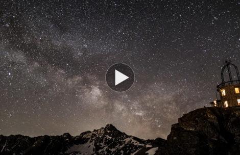 Kosmos nad Kasprowym i Świnicą. Widok, który zapiera dech w piersiach (FILM)