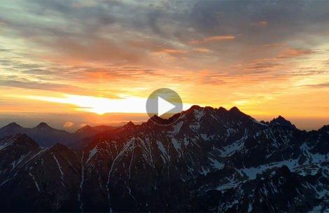 Wschód słońca na Rysach – nagranie, które zachwyci każdego (FILM)