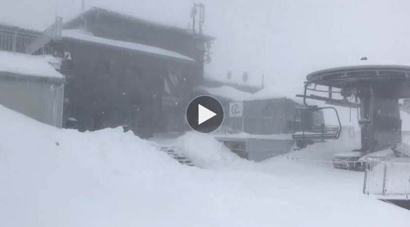 Zima w pełni! Oto aktualne warunki na Kasprowym Wierchu (FILM)