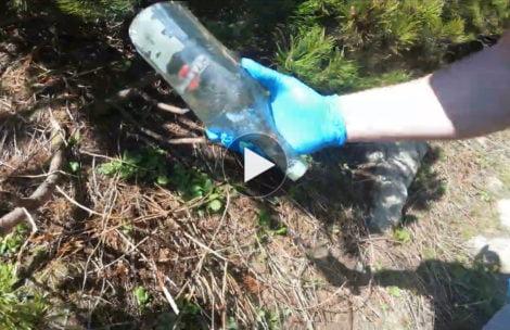 Co zrobić ze śmieciami znalezionymi na szlaku? Oto dobry przykład (FILM)