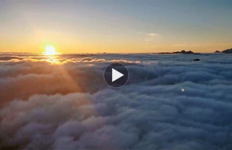 Czy to już niebo? Tak pięknie było dziś na Starorobociańskim Wierchu (FILM)